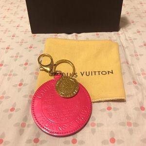 Louis Vuitton trunks and bags key holder and charm